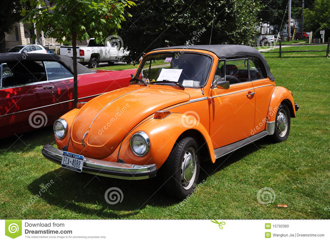 Volkswagen Beetle In Antique Car Show Editorial Image - Image of ...