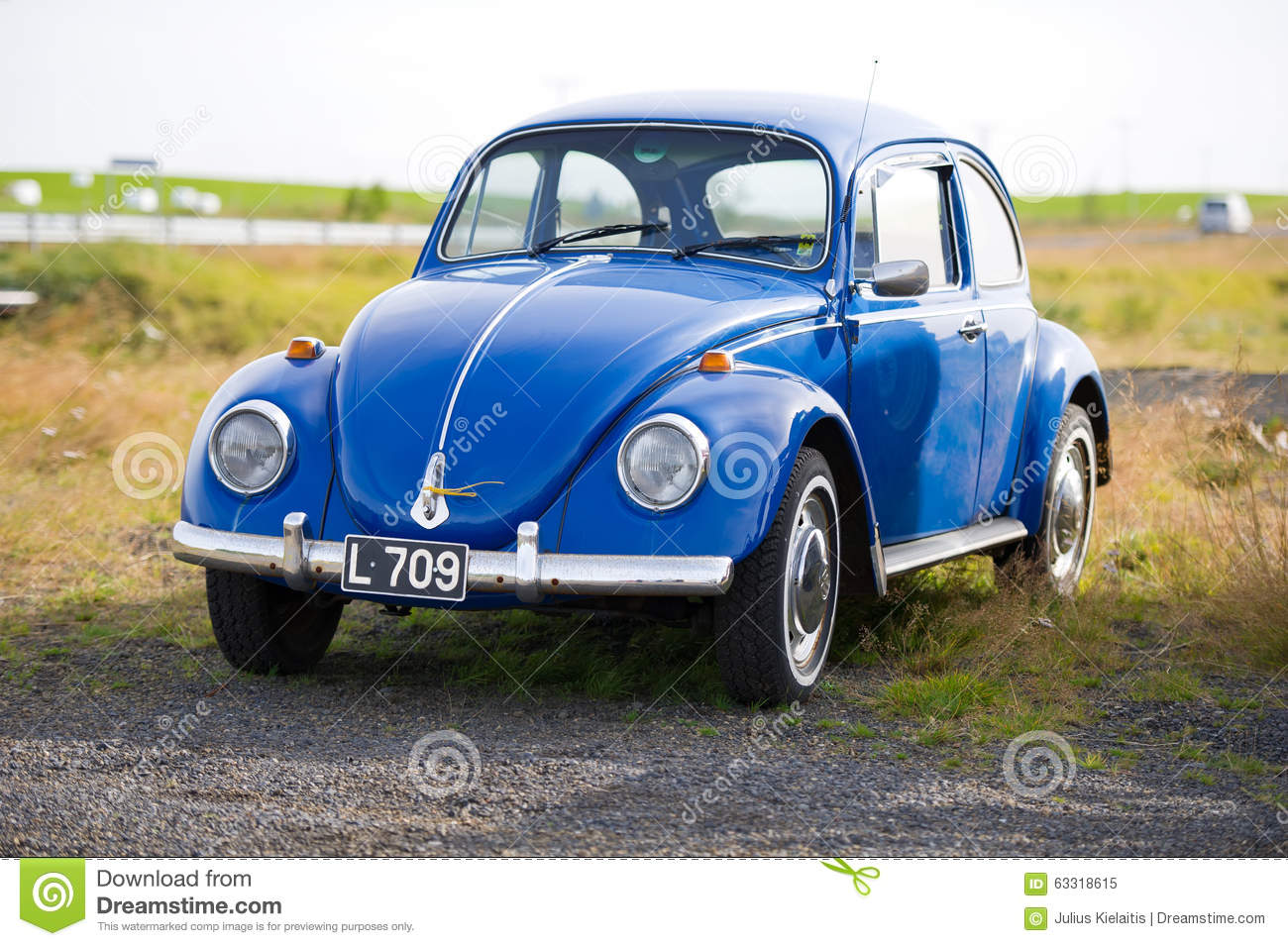 volkswagen beetle kaefer bug retro car editorial image image 63318615. Black Bedroom Furniture Sets. Home Design Ideas