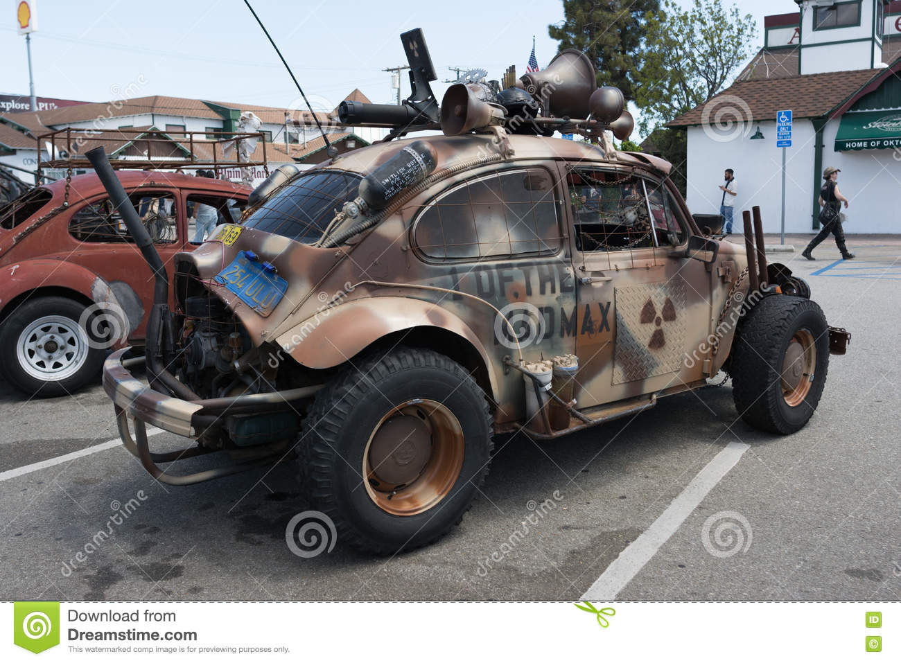 Volkswagen Beetle Post Apocalyptic Survival Vehicle