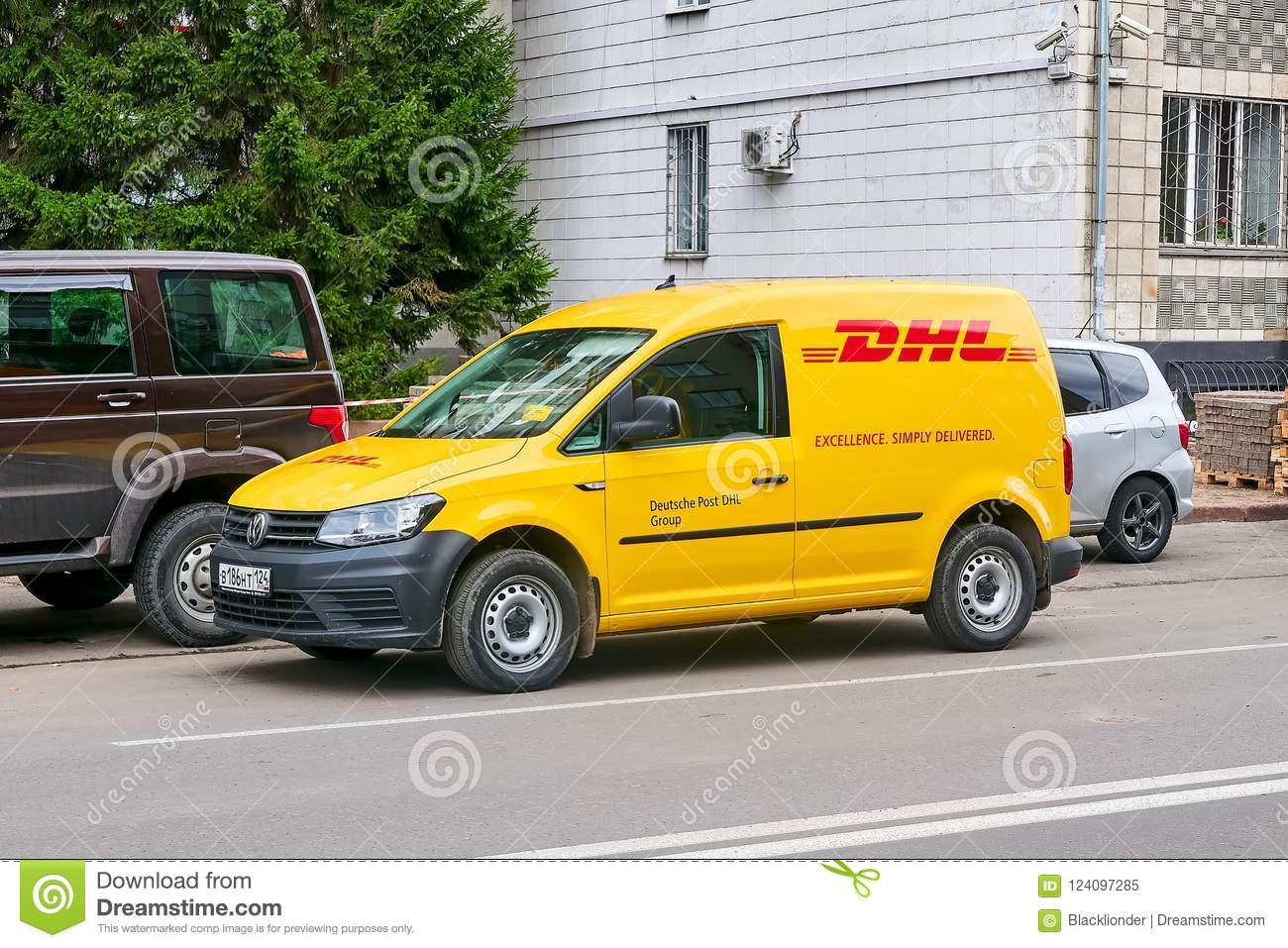 Volkswagen Caddy Left Side View Editorial Image - Image of parcel