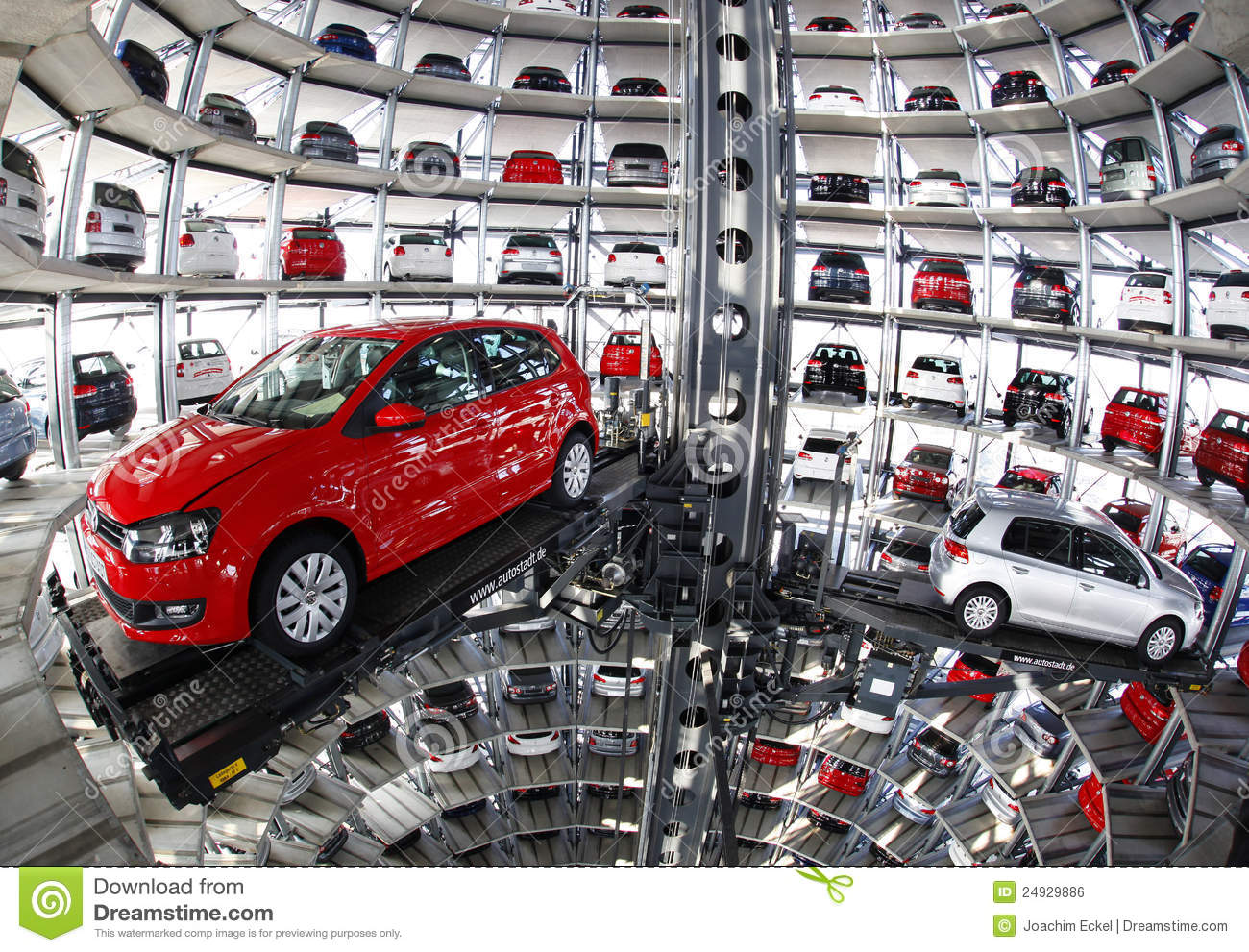 Hotel Interior Designers Volkswagen Car Tower Editorial Photo Image 24929886