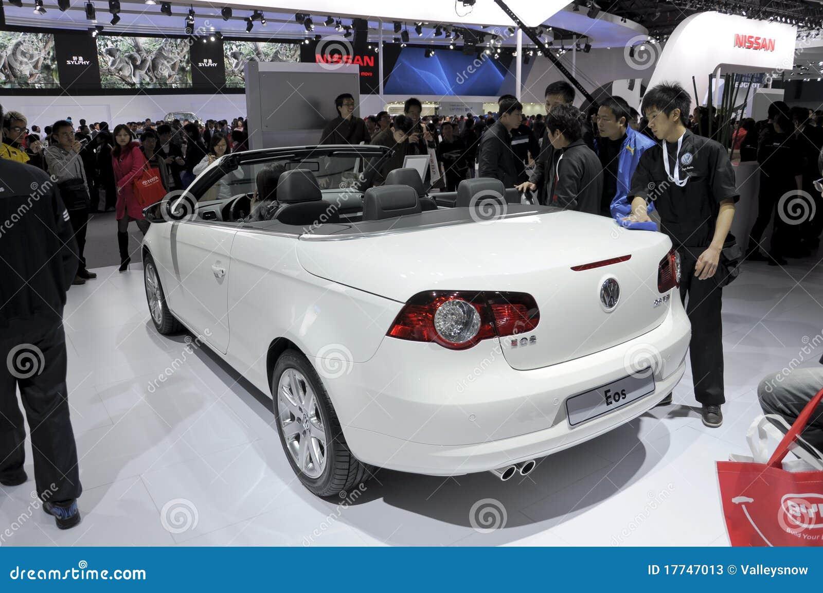 Volkswagen EOS Cabrio Editorial Stock Photo Image Of Asia - Eos car show