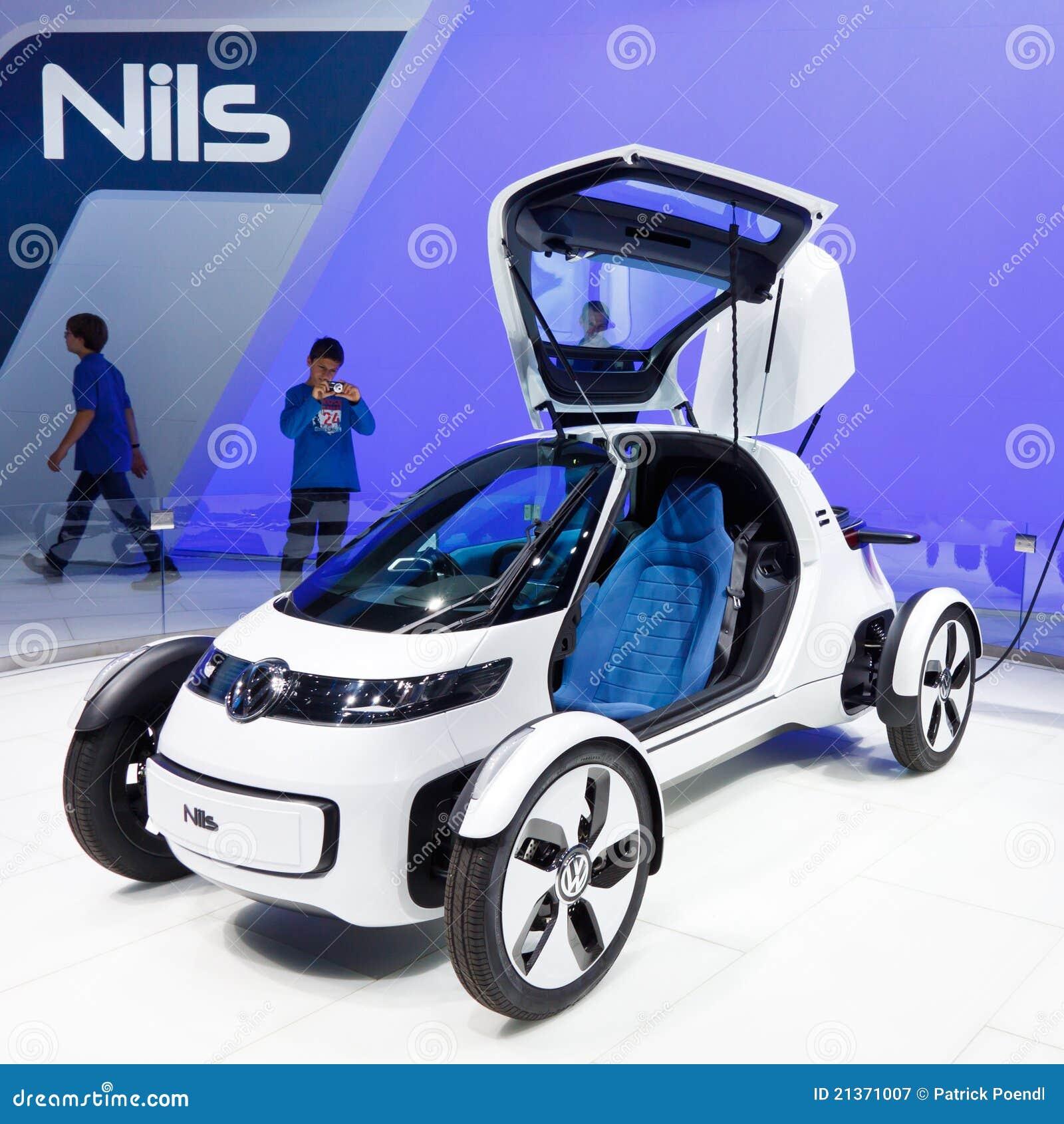 Volkswagen Nils Concept Car Editorial Photography