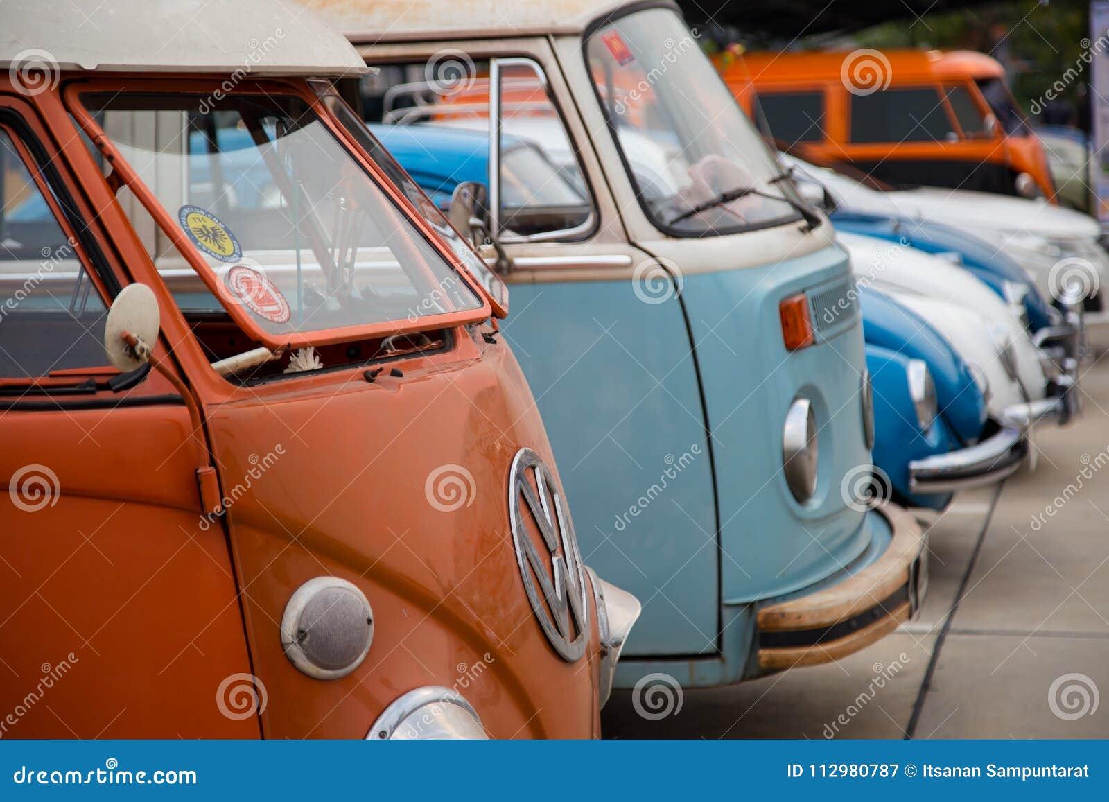 Volkswagen owners gathering in club meeting