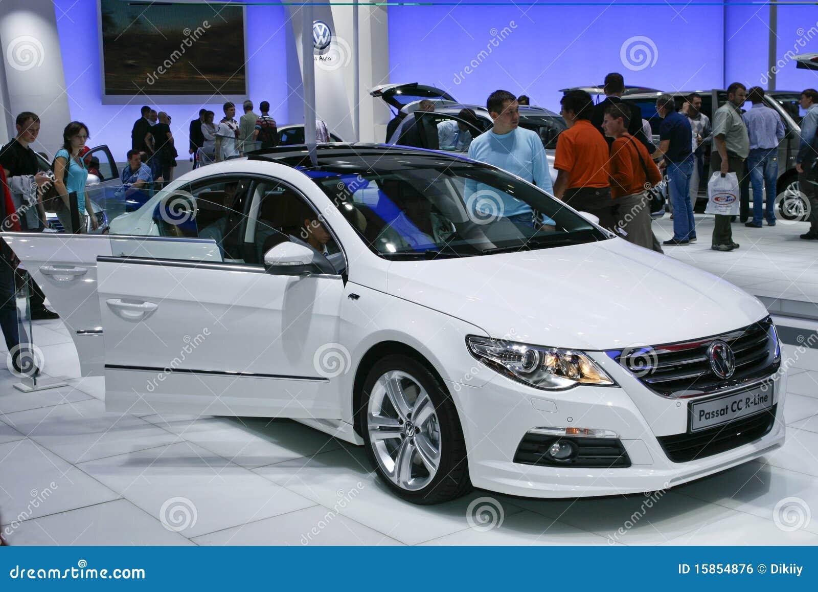 Volkswagen Passat CC R-Line Editorial Photo - Image: 15854876