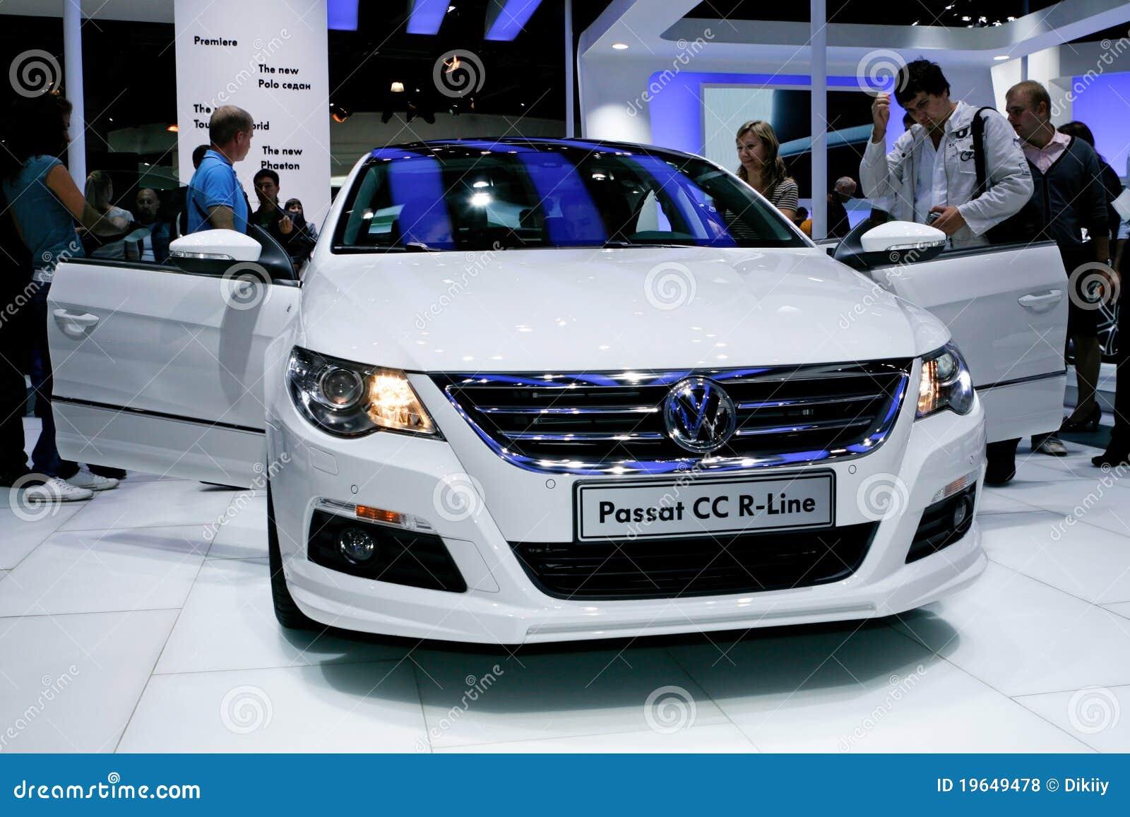 Volkswagen Passat CC R-Line Editorial Stock Photo - Image ...