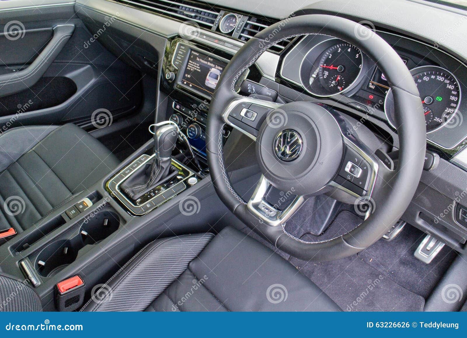 Download Volkswagen Passat R Line 2015 Interior Editorial Photo   Image Of  Saloon, Modern