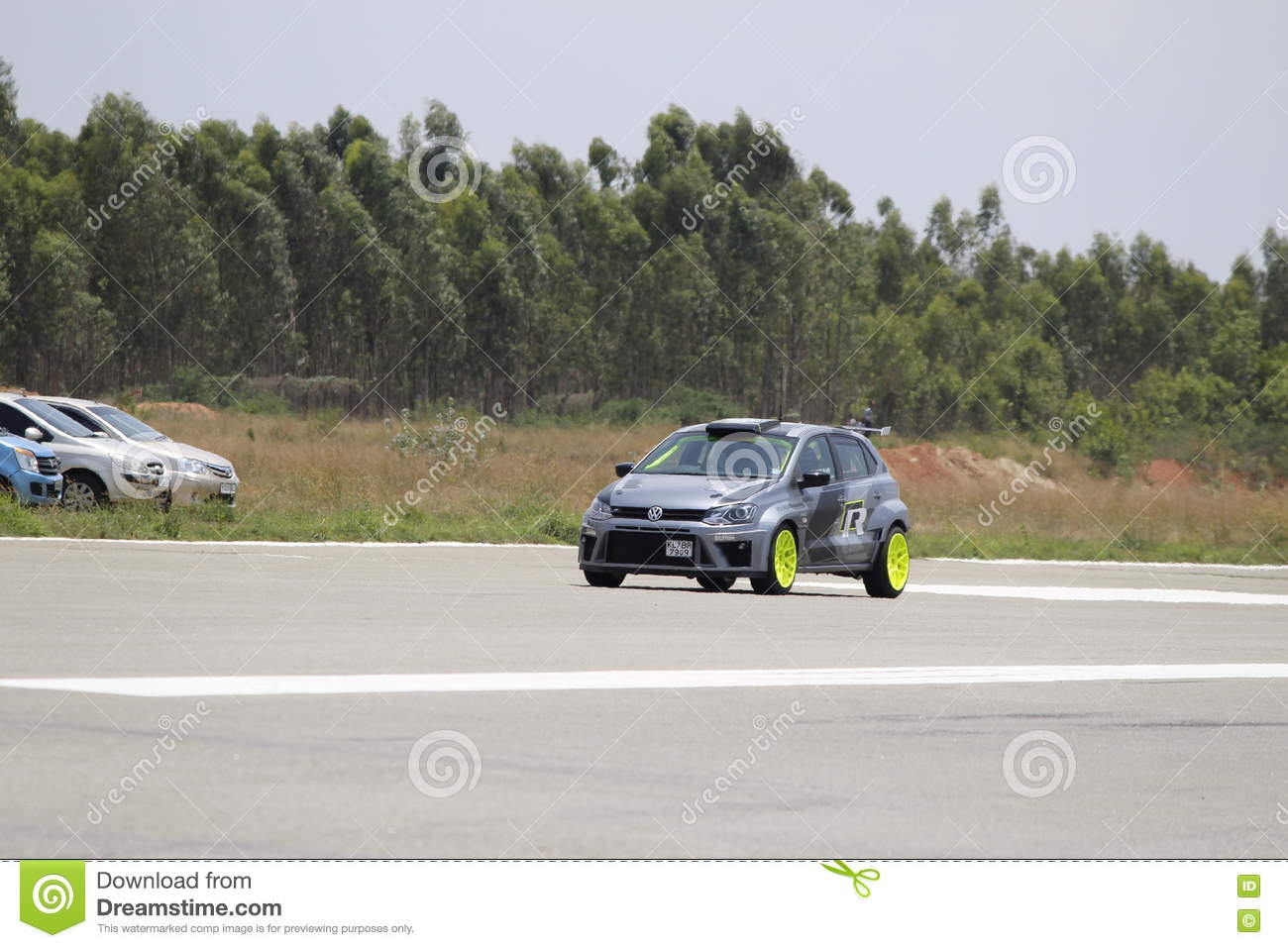 Volkswagen Polo Modified Car Editorial Stock Image Image Of