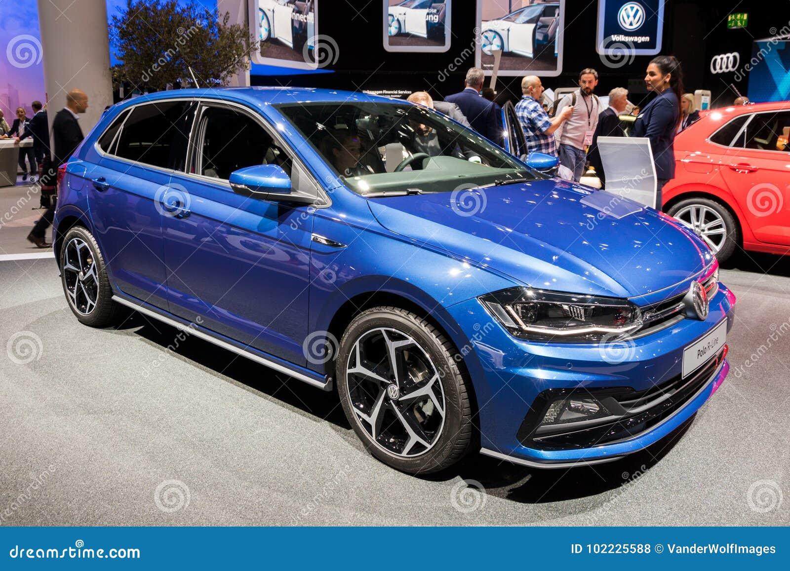 Volkswagen Polo R-linje bil