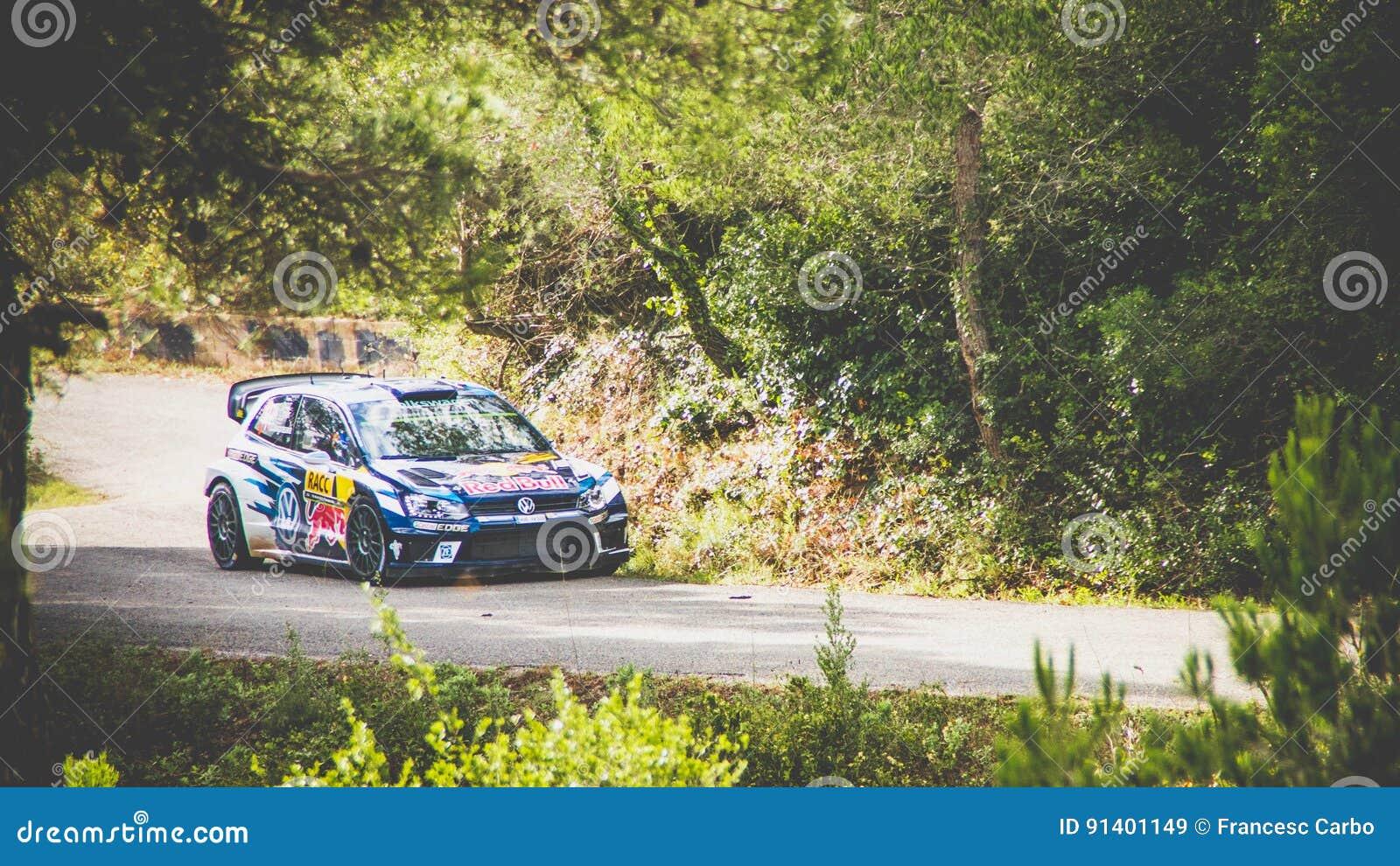 Volkswagen Polo World Rally Car Editorial Stock Image Image Of Racing Ogier 91401149