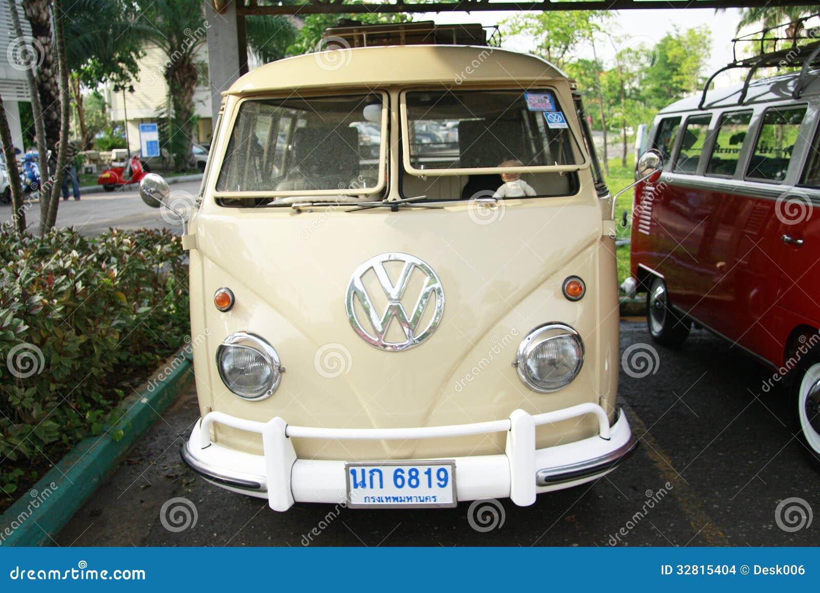 volkswagen retro vintage car split bus editorial stock image image of auto beautiful 32815404. Black Bedroom Furniture Sets. Home Design Ideas