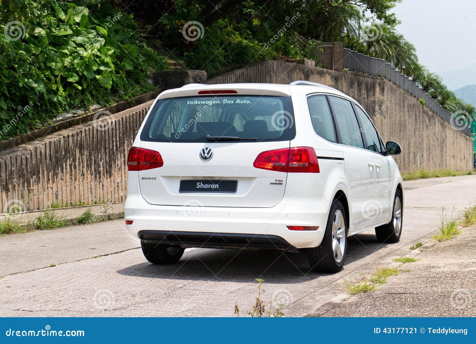 Volkswagen Sharan 2014 Editorial Photo - Image: 43177121