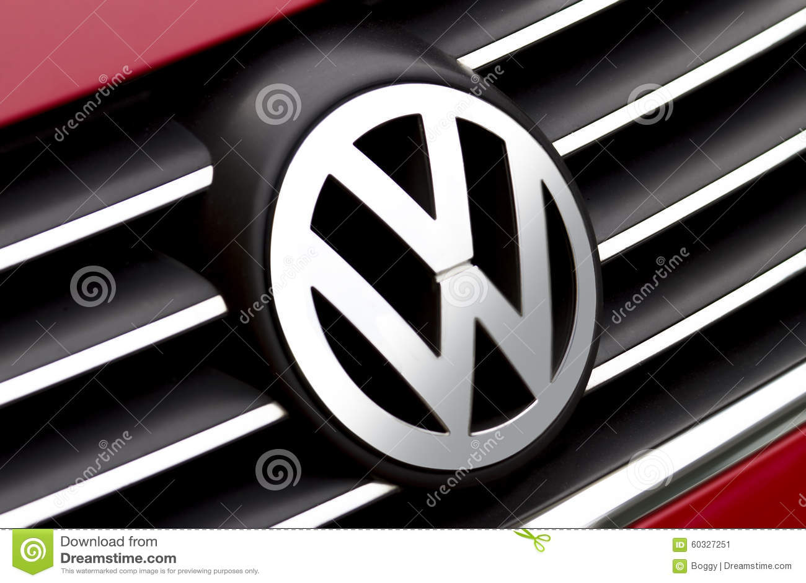Volkswagen Sign Editorial Photo Image 60327251