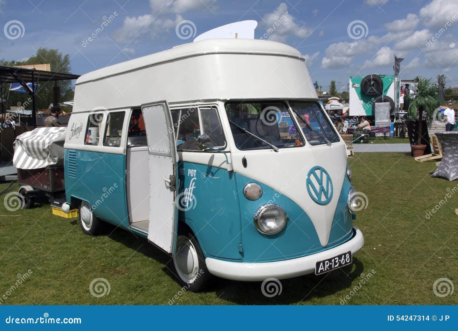 volkswagen t1 ice cream van editorial stock image image. Black Bedroom Furniture Sets. Home Design Ideas