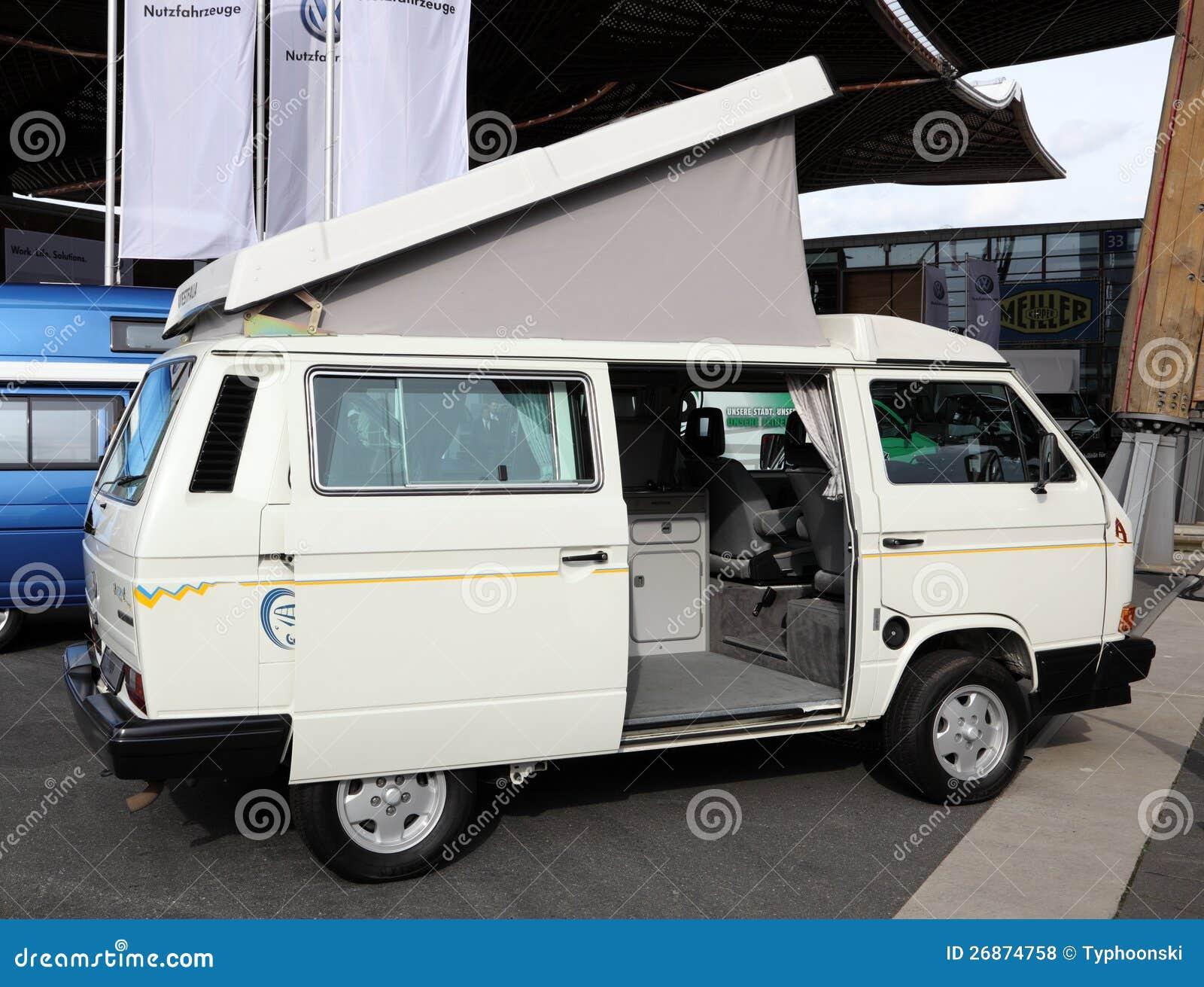 volkswagen t3 westfalia multivan editorial stock photo. Black Bedroom Furniture Sets. Home Design Ideas