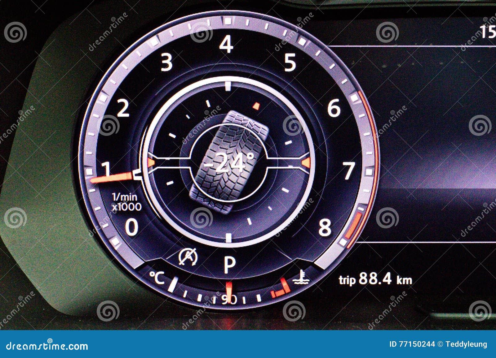Volkswagen Tiguan 2016 outre d affichage de route