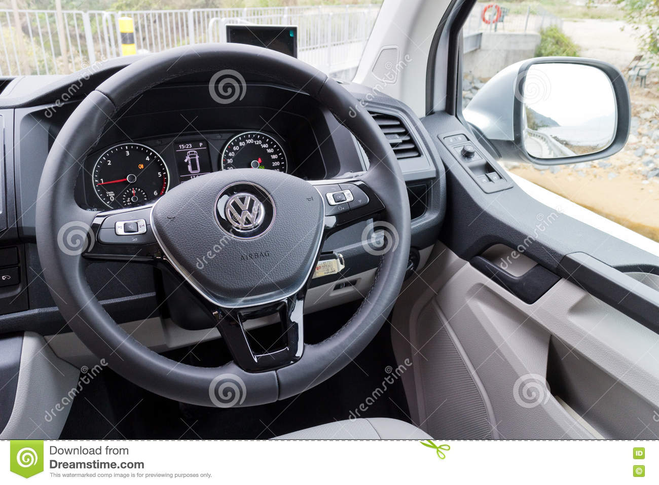 Volkswagen Transporter 2016 Interior Editorial Photography - Image ...