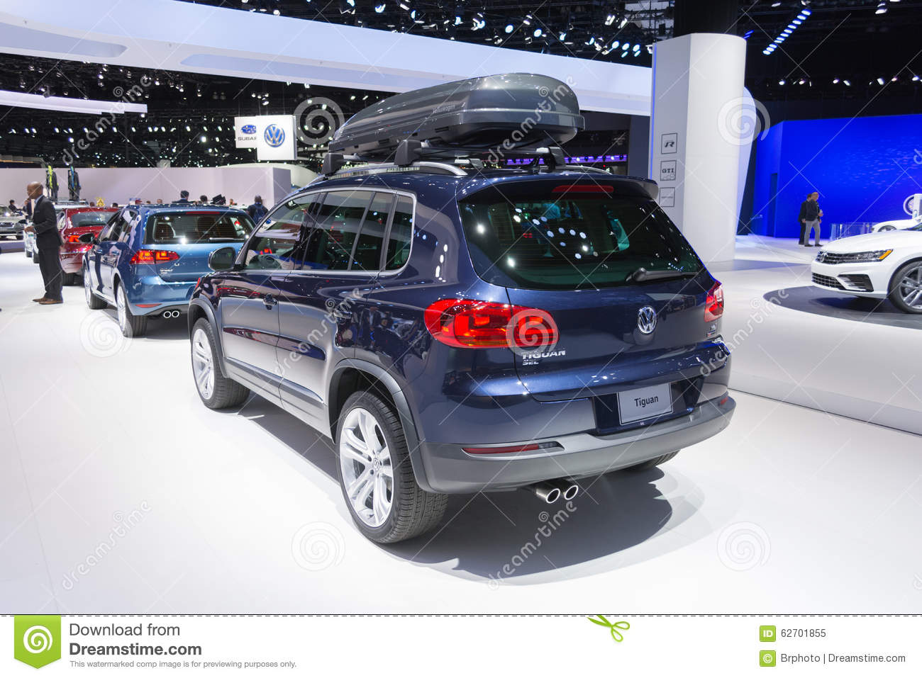 Volkswagen tuguan sel editorial image image 62701855 for Dream motors los angeles