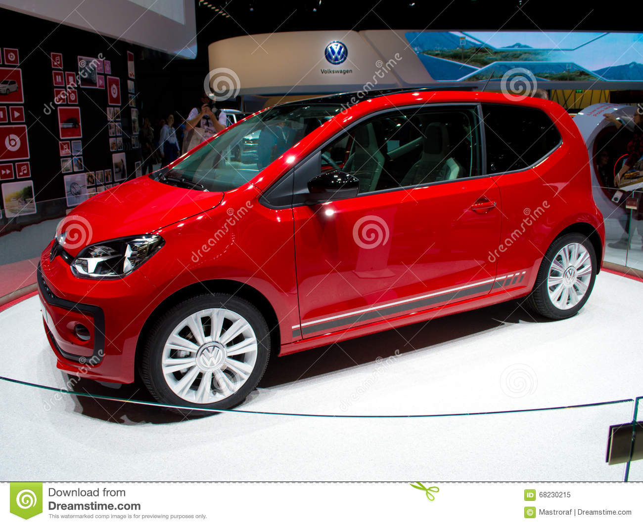 volkswagen up editorial image. image of motorshow, engineering