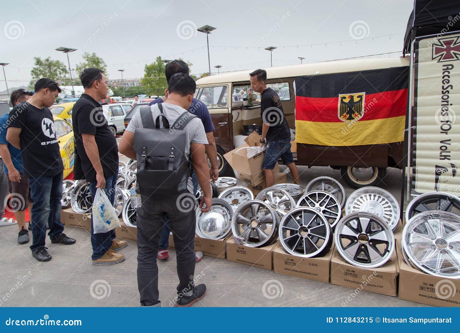 Volkswagen Van Owner Sell VW Wheels Editorial Image - Image