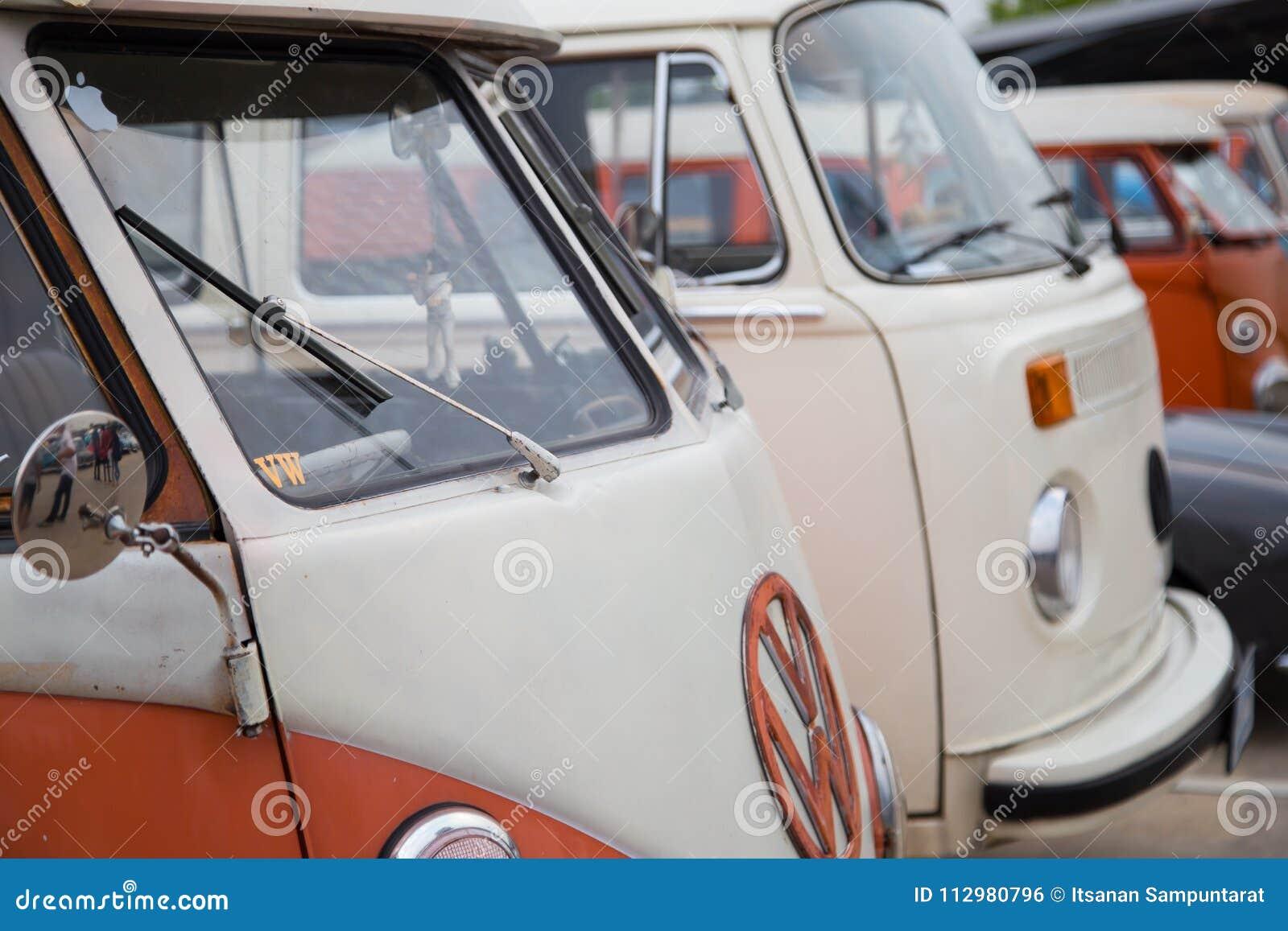 Volkswagen van owners club meeting in Thailand