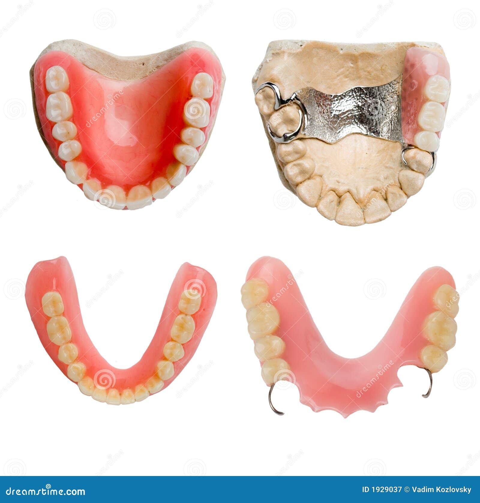 Volledig - inzameling van de grootte de tandprothese