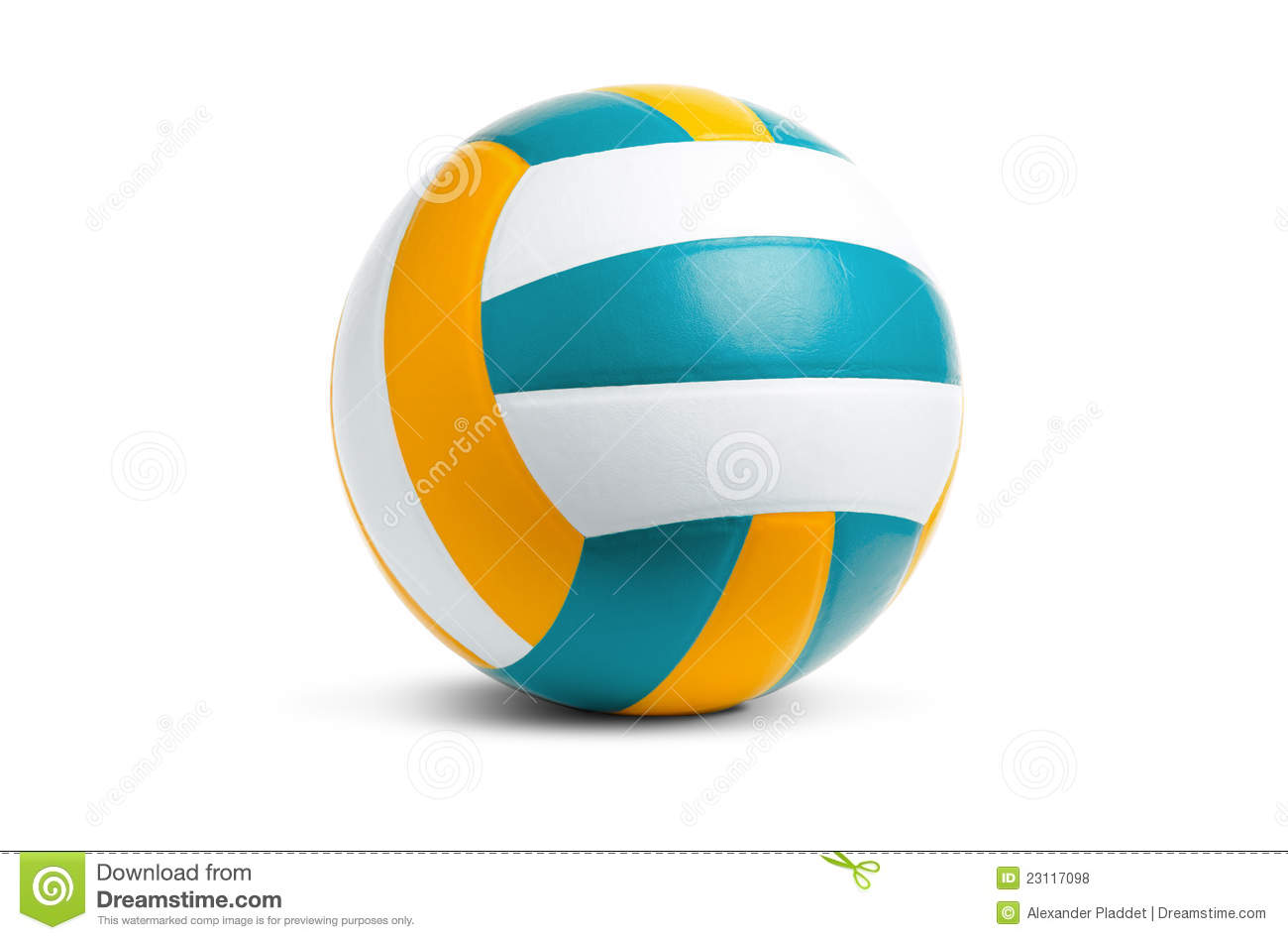 Background Abstract Volleyball Blue Yellow Ball Frame: Volleyball Royalty Free Stock Photos