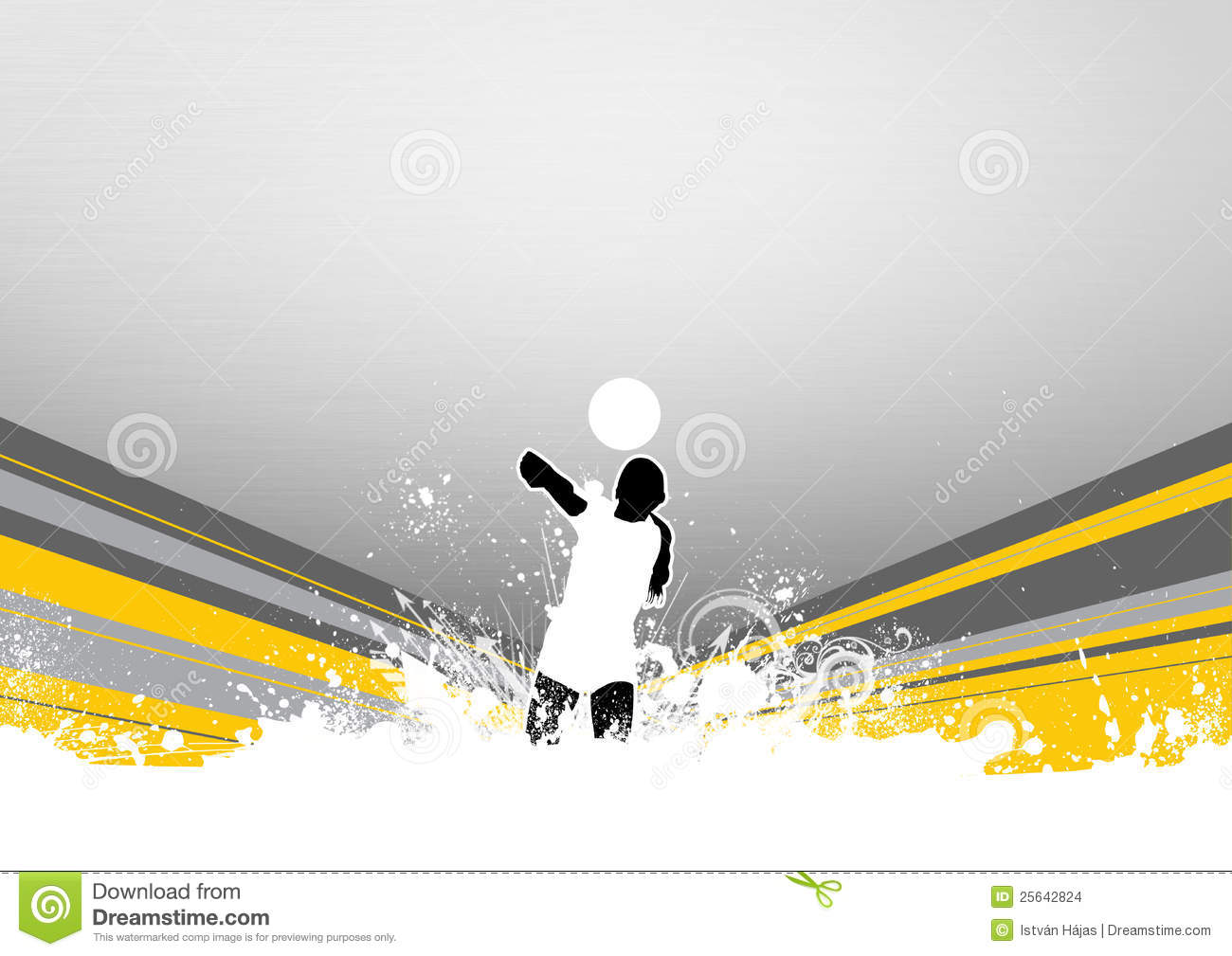 Abstract Grungy Background Volleyball Arrowhead Stock: Volleyball Stock Images