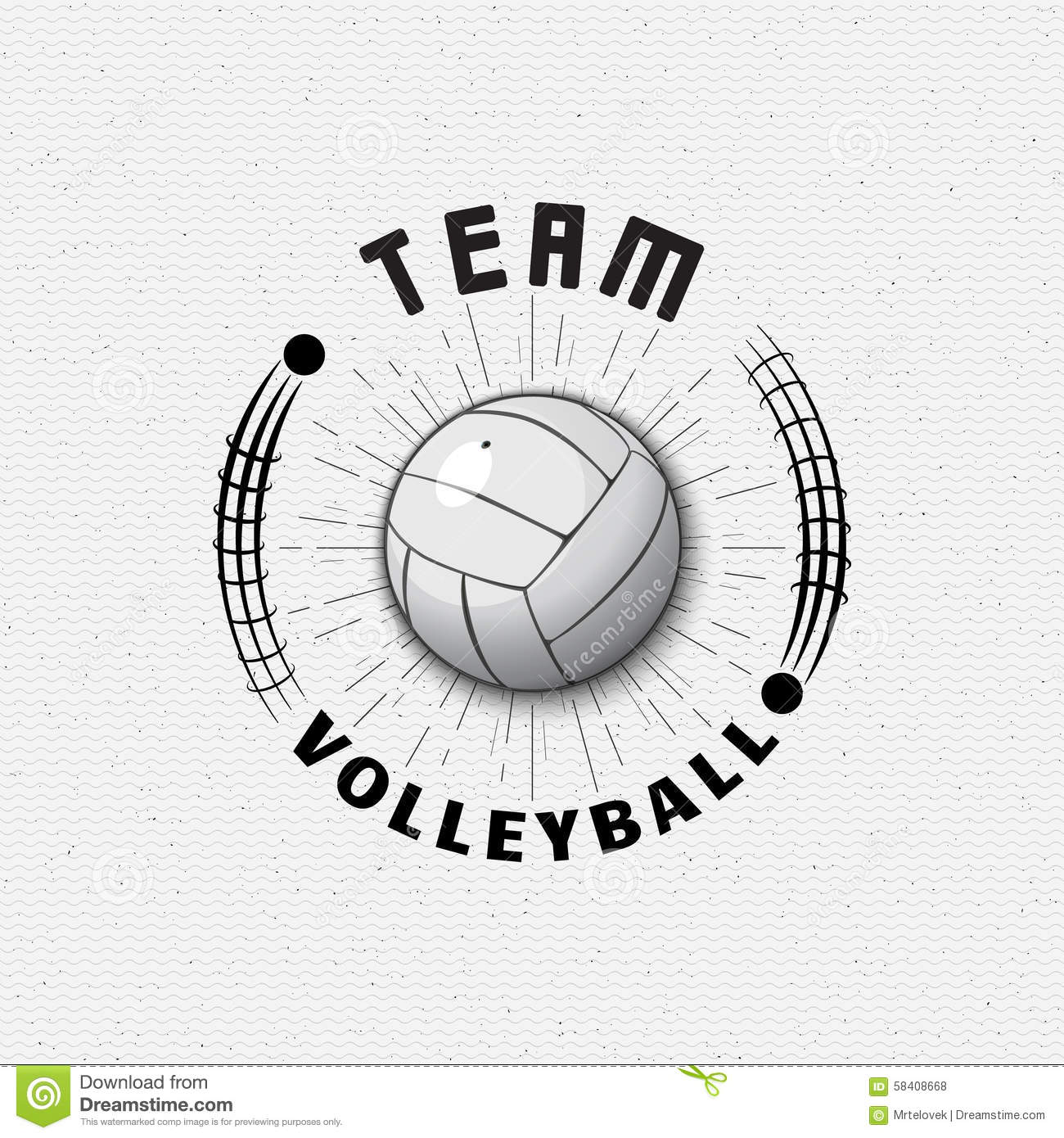 volleyball badges logos and labels for any use stock vector