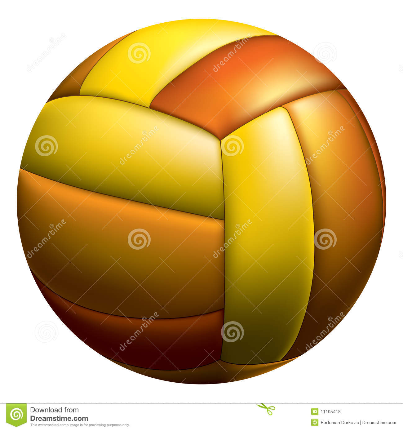 volleyball ball stock vector  image of block  fast  entertainment