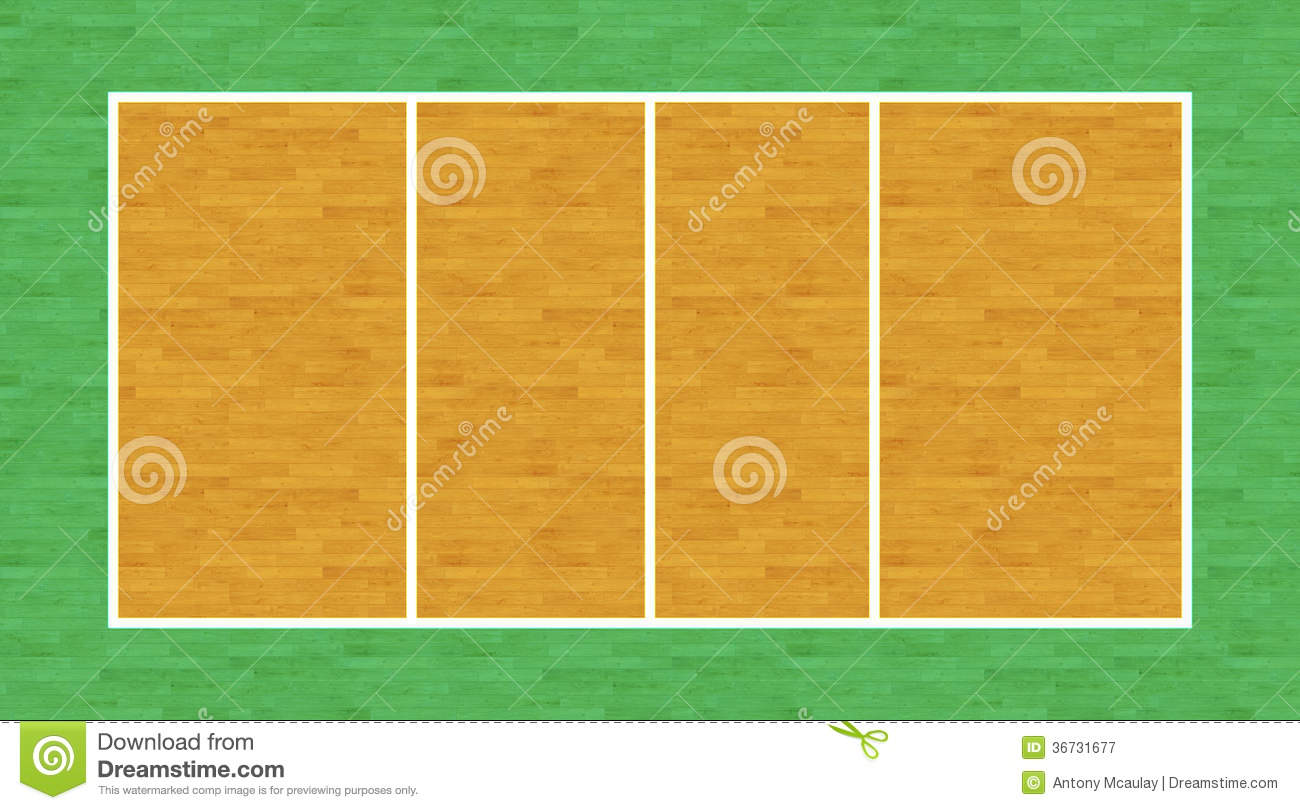Volleyball Court Royalty Free Stock Photography - Image ...