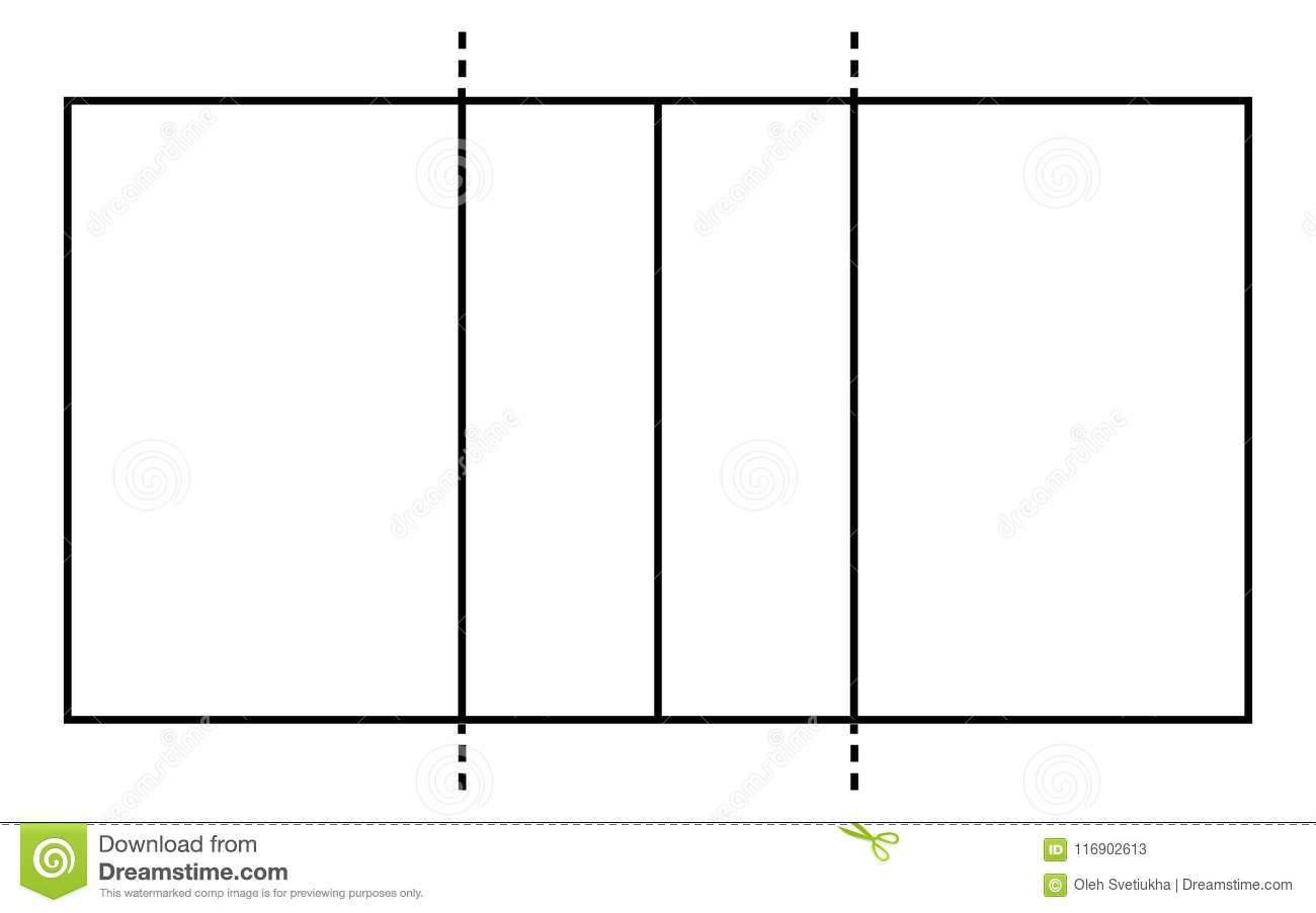 Volleyball Court. Sport Background. Line Art Style Stock ...