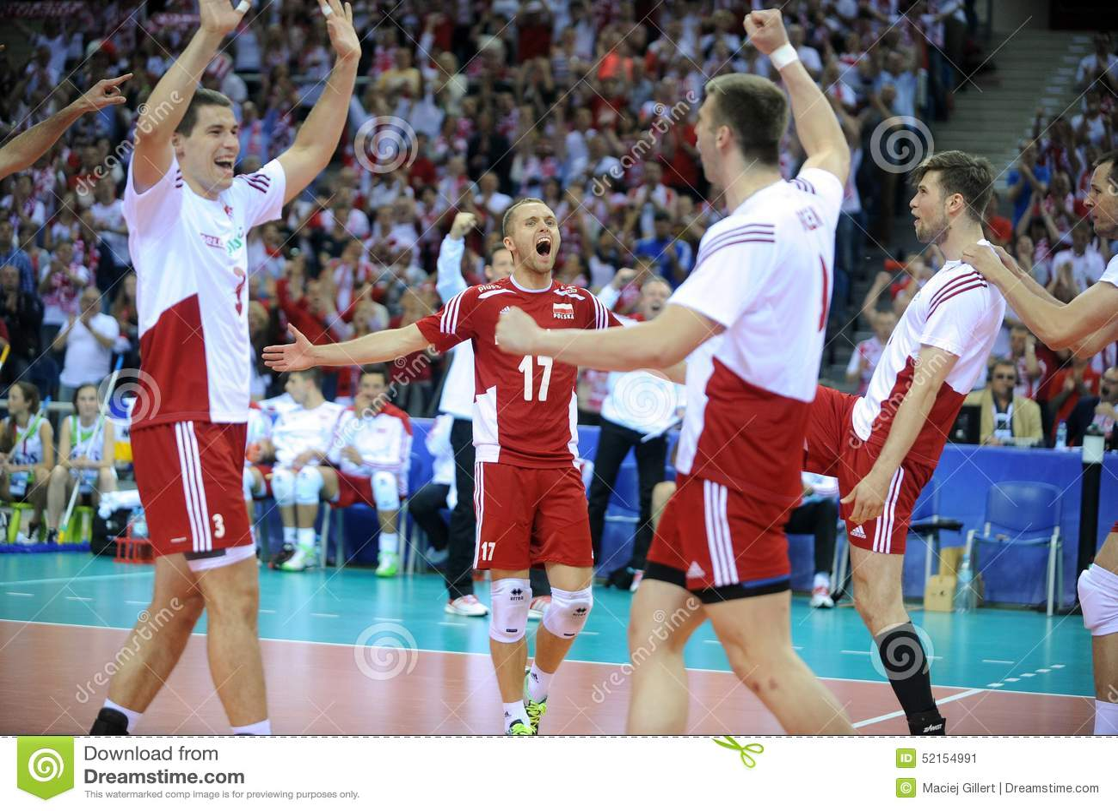 Polen Brasilien Volleyball