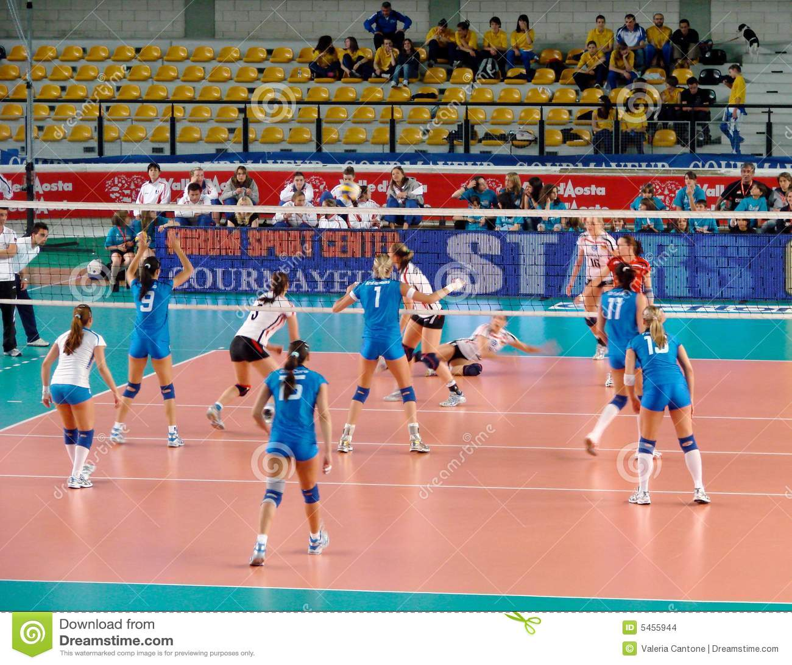 Volleyball Italien