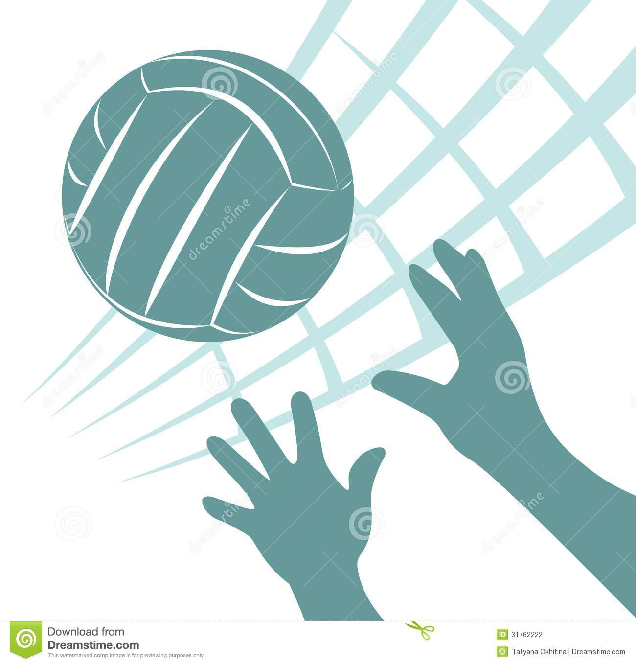 Volleyball Stoc...