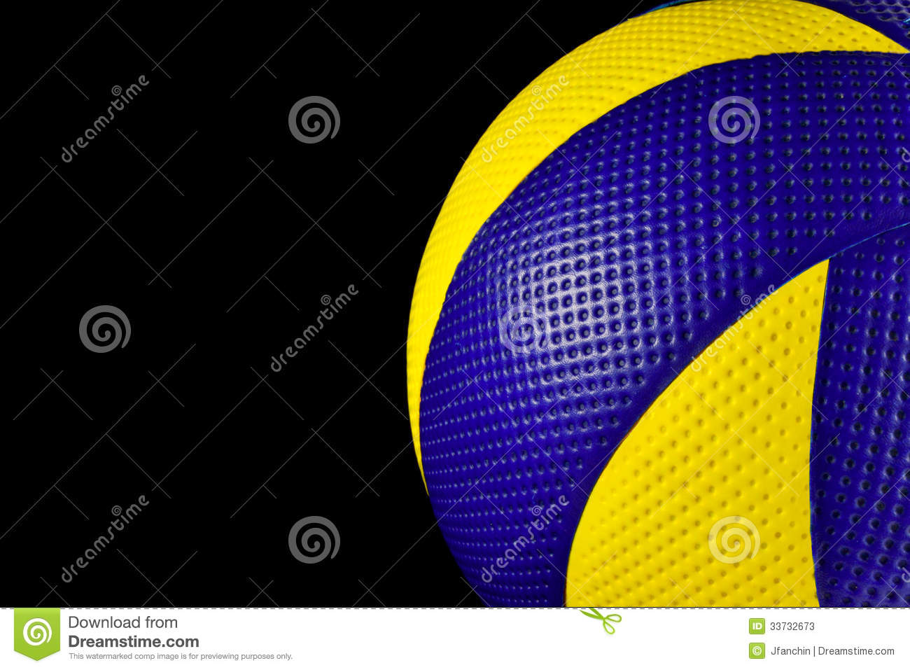 Background Abstract Sport Volleyball Blue Yellow Ball: Volleyball Stock Photos
