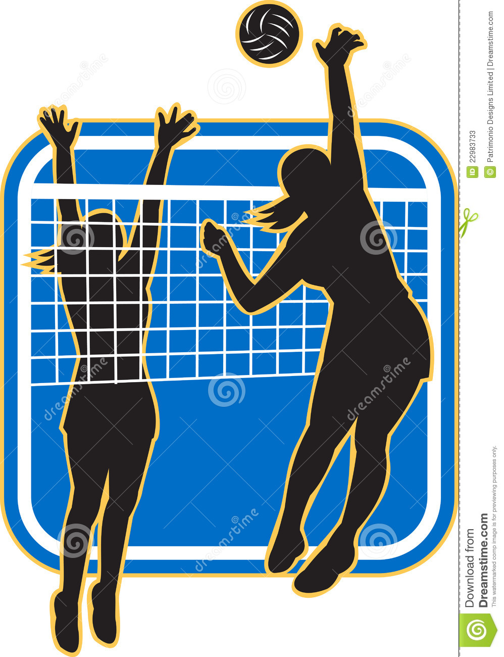 Blocking Volleyball Stock Illustrations 133 Blocking Volleyball Stock Illustrations Vectors Clipart Dreamstime