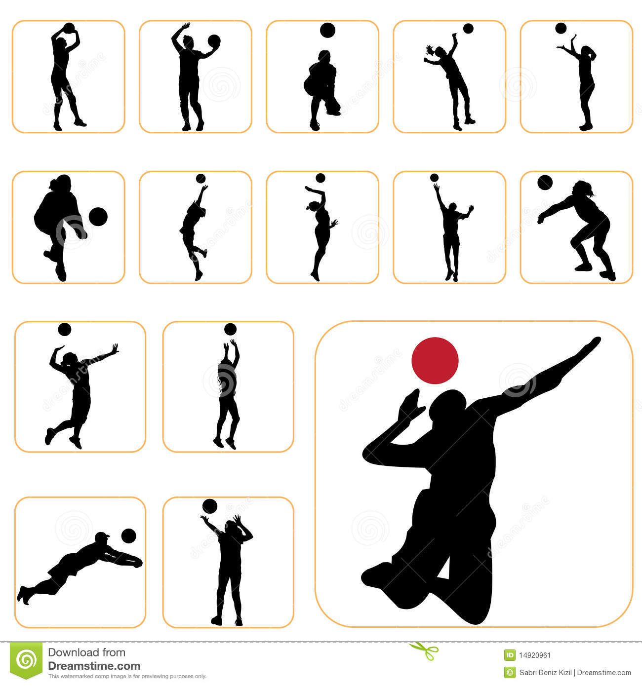 volleyball setting clipart - photo #16
