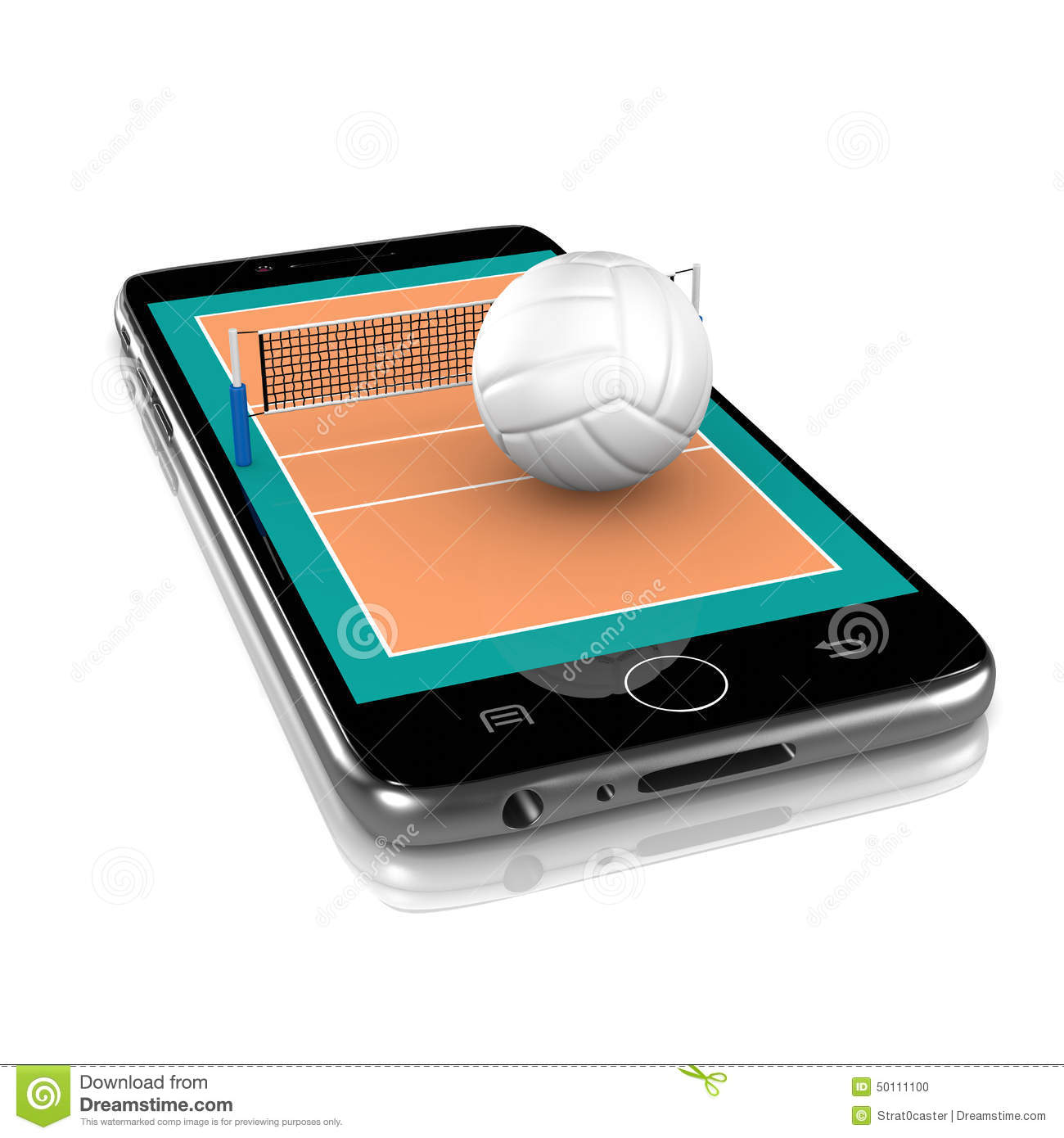 Volleyball on Smartphone, Sports App