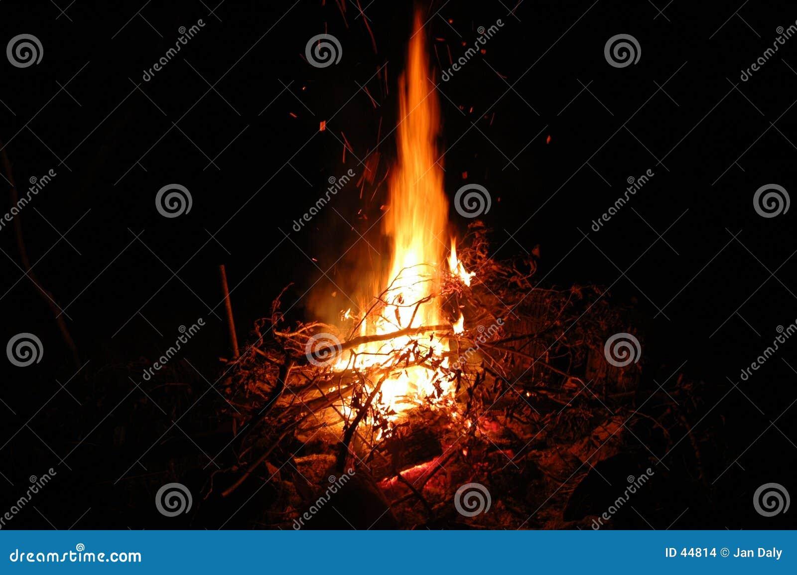 Vollkommenes Lagerfeuer