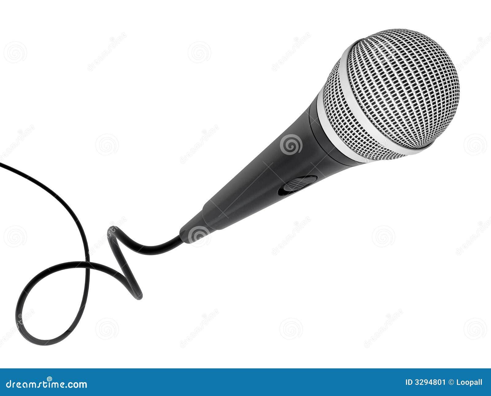 Volo del microfono