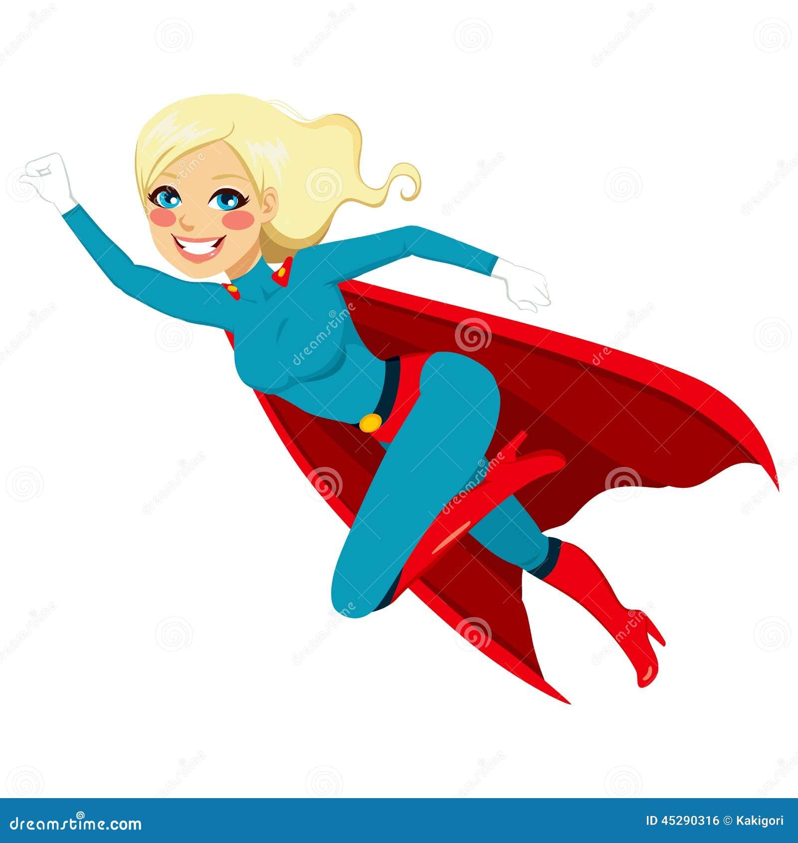 Volo della ragazza dell eroe eccellente