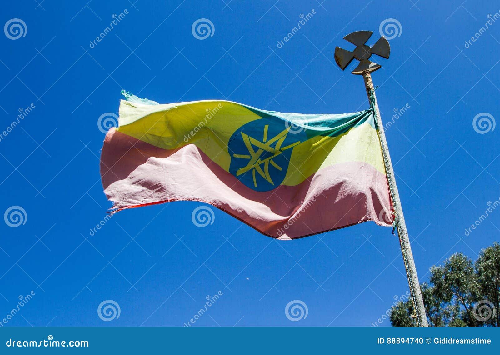 Volo etiopico della bandiera