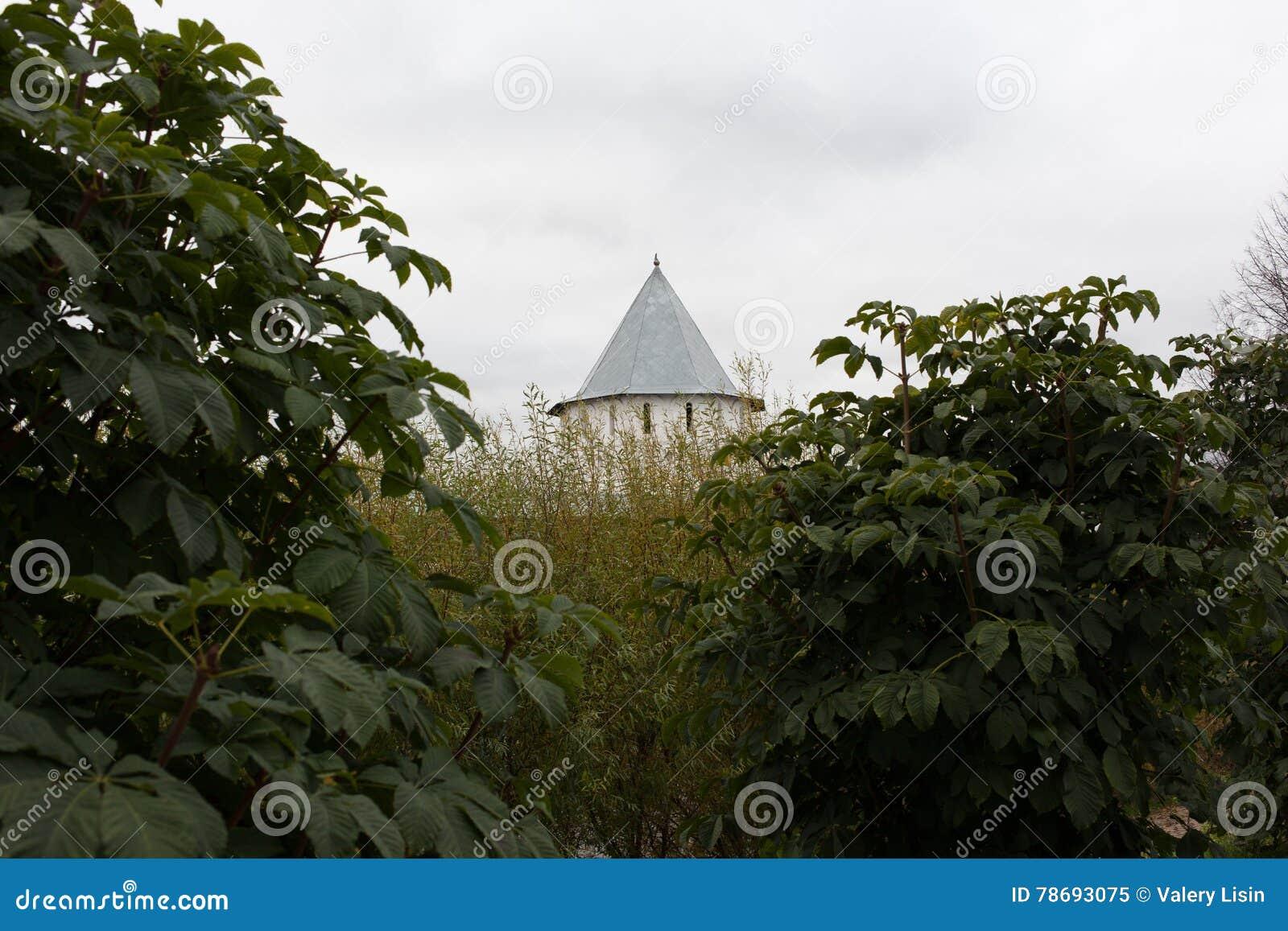 Vologda, Rusland Het Klooster spaso-Prilutsky is een Russisch Orthodox klooster