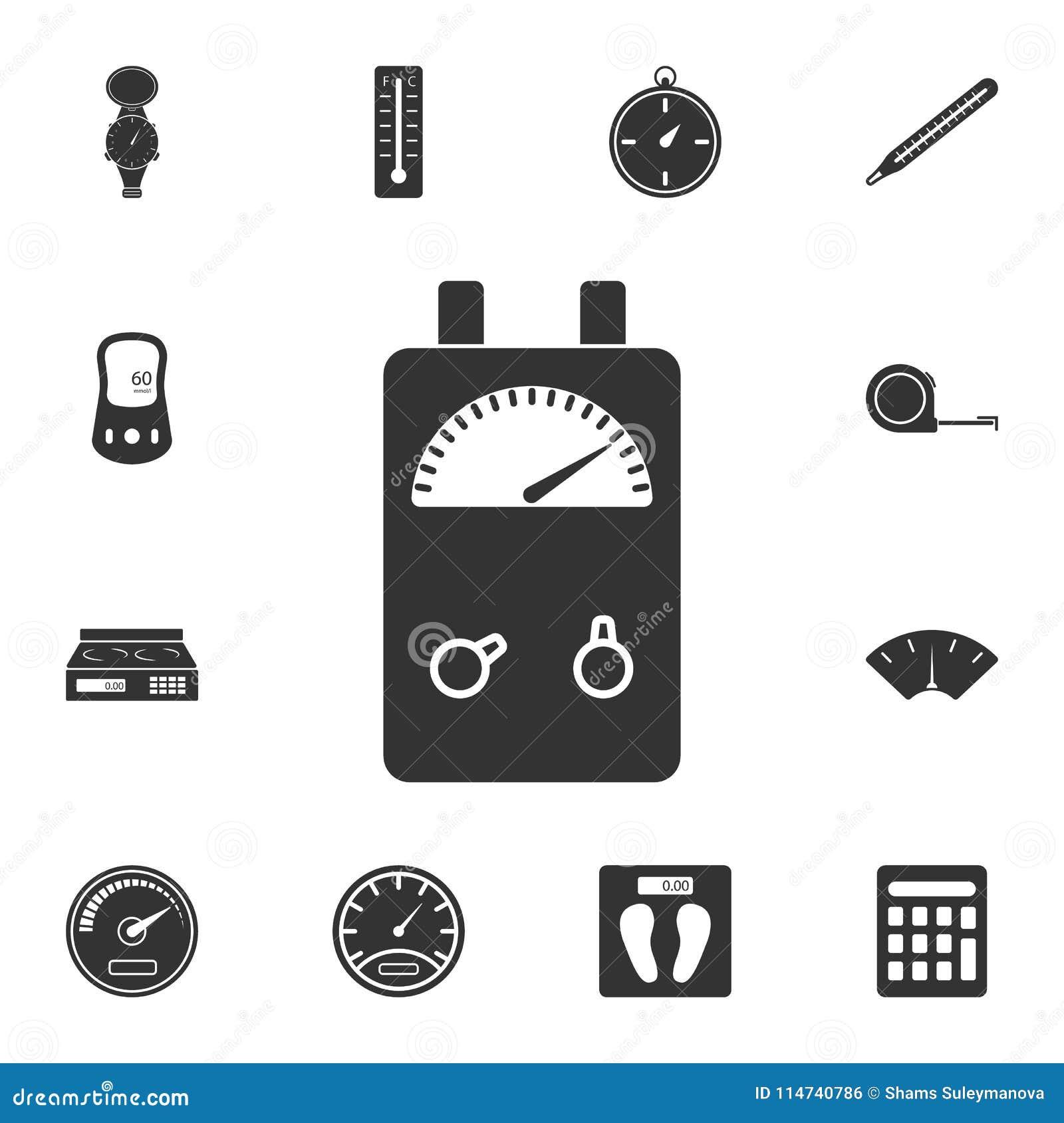 Electrical Tester Symbols : Fancy voltage meter symbols embellishment the best