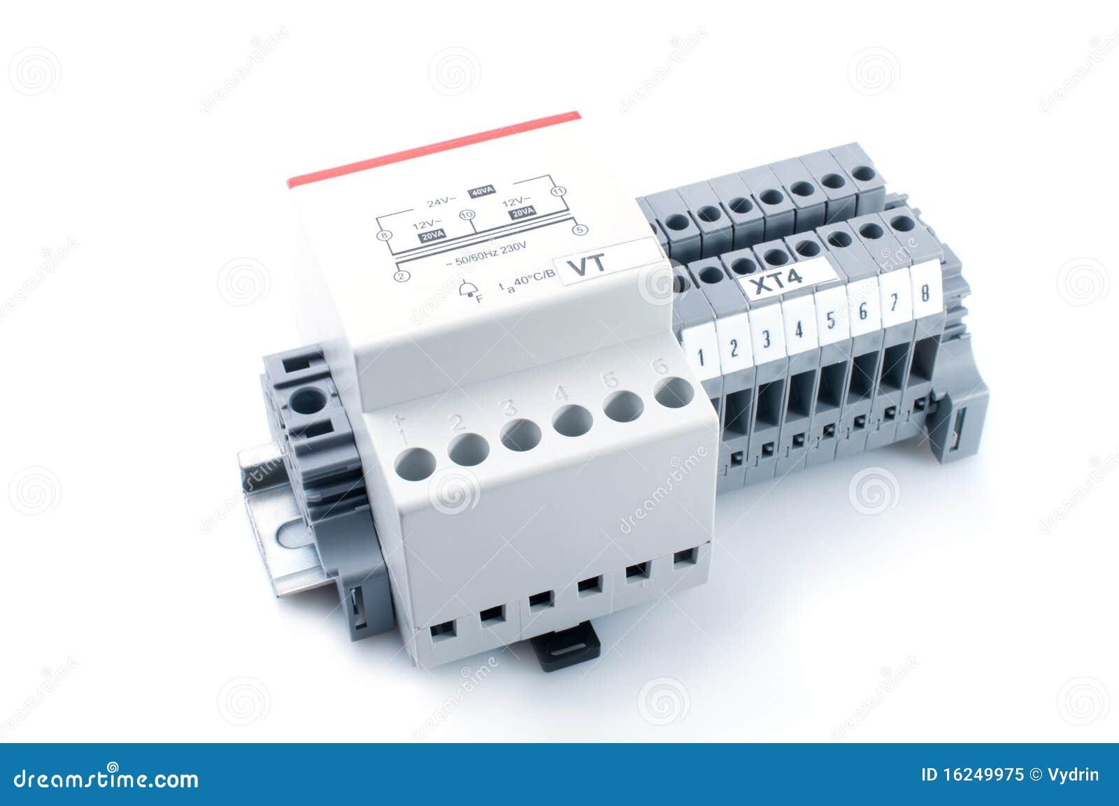 Voltage Transformer Royalty Free Stock Photo - Image: 16249975