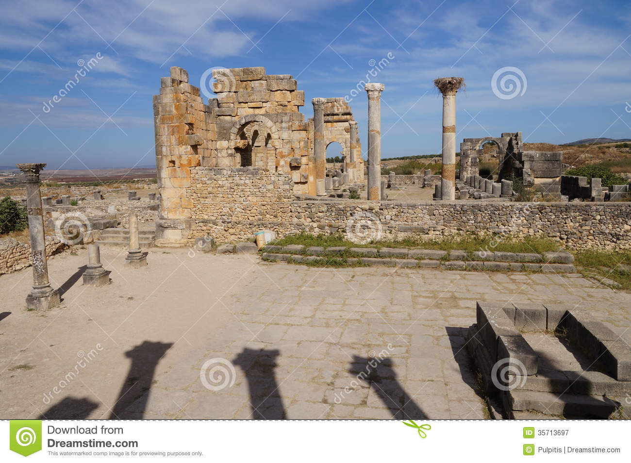 Volubilis archaeological site on unesco world heritage for World heritage site list