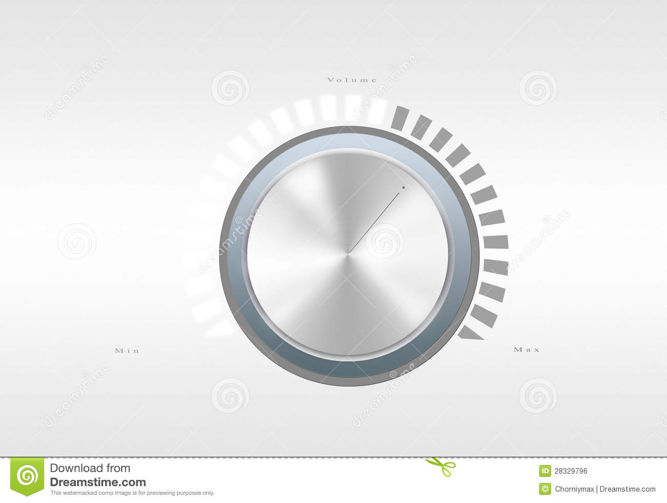 volume button royalty free stock image