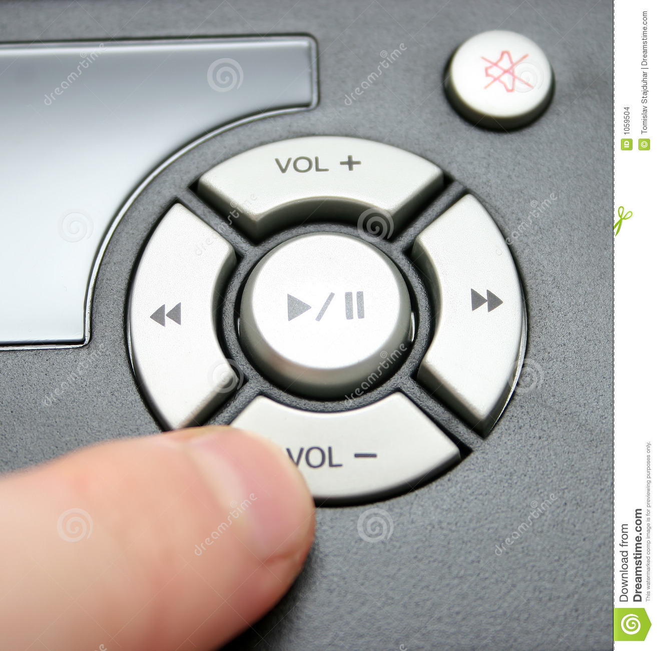 Volume Down Stock Images - Image: 1059504