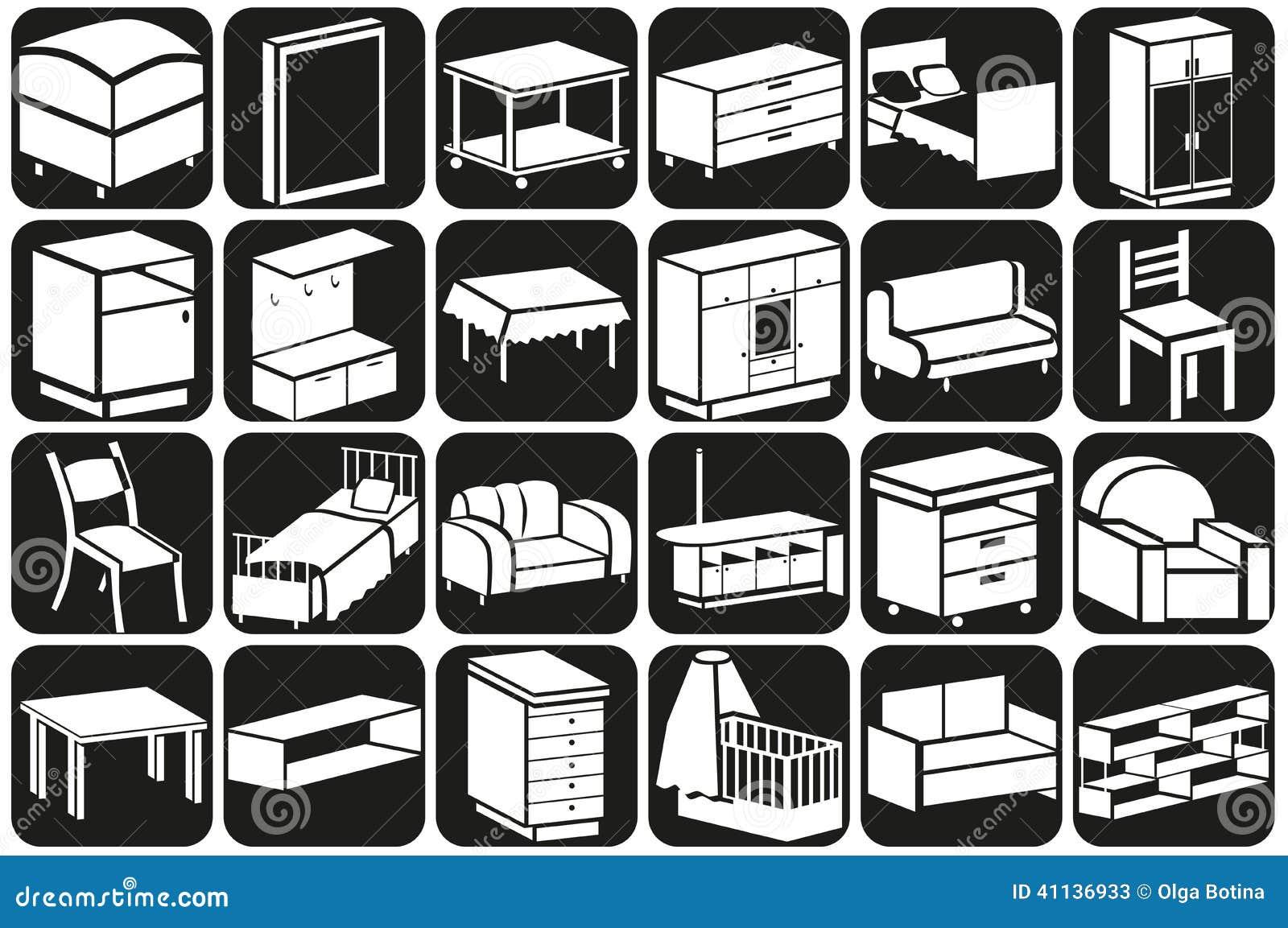Muebles Volumen - Volumen De Los Iconos De Los Muebles Ilustraci N Del Vector [mjhdah]https://s-media-cache-ak0.pinimg.com/originals/2a/99/95/2a99958921d9157c25b30870db44f23f.jpg